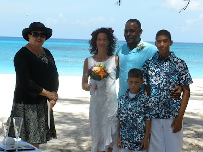 Cayman Wedding-Moon Rocks for Memphis Family - image 6