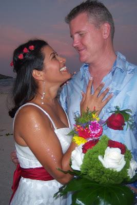 Bikini Bride at Grand Cayman Beach Wedding - image 8