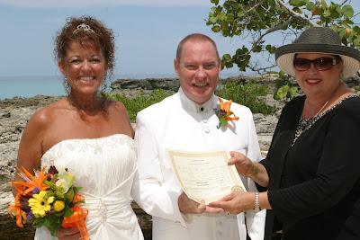 A Simple Wedding, and a well-kept secret, Grand Cayman Beach Wedding - image 7