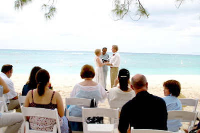 Surrounded by the ones they love for their Cayman Beach Wedding - image 1