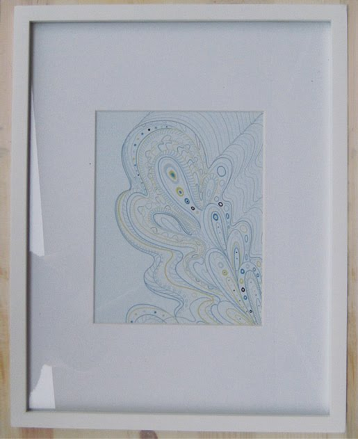 Paper Squid Abstract Seashells Print on Etsy