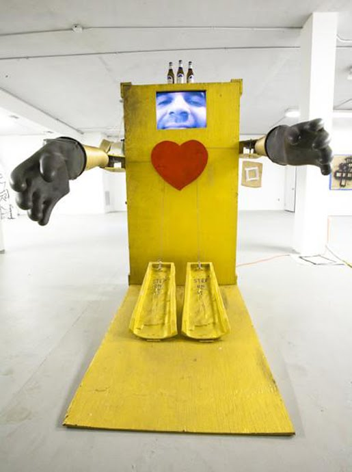 Juan Jose Griego Hug Machine Miami Florida Cuban artist