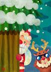 クリスマスのイラスト 「もうすぐクリスマス」
