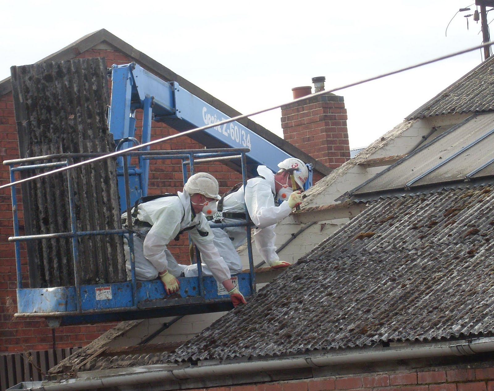 The Not So Secret Diary Of A Grumpess Asbestos Roof
