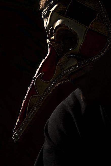 Máscara venecina.