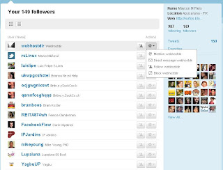 Os Followers do Twitter. Quem está te seguindo no twitter. Criar conta no Twitter. Como começar no Twitter.