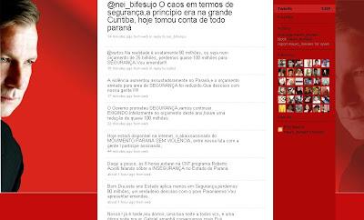 Dep Mauro Moraes falando sobre a segurança no estado. Veja mais em: http://twitter.com/mauro_moraes. Destacado do Twitter de @mauro_moraes.