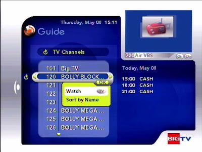 Big TV Guide
