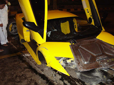 Lamborghini Totalled