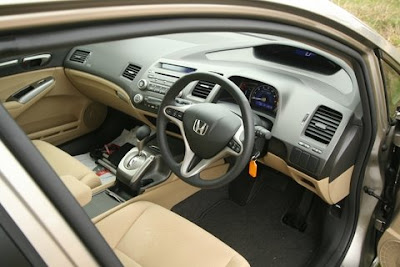 Honda Civic Hybrid Interiors