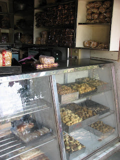 Meher bakery eatables on display