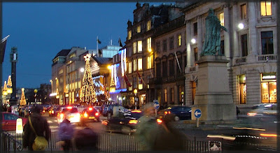 Embra George St at Xmas