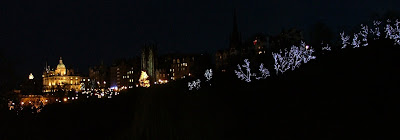 Princes St Gardens, Embra at Xmas