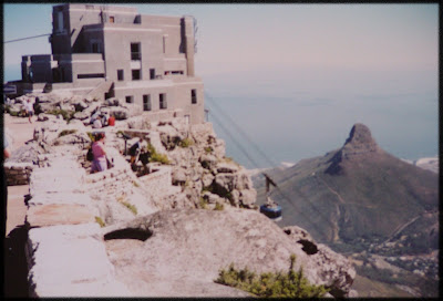 Table Mountain, Cape Town - view from the top