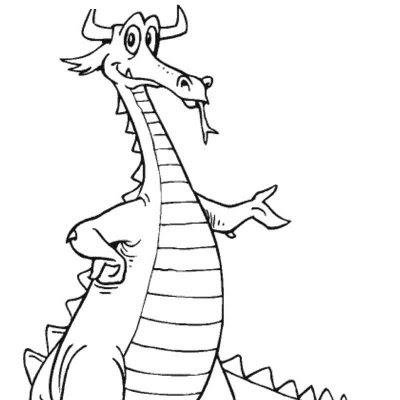 DIBUJOS PARA PINTAR DE DRAGONES. - Dibujos para Colorear y Pintar Gratis