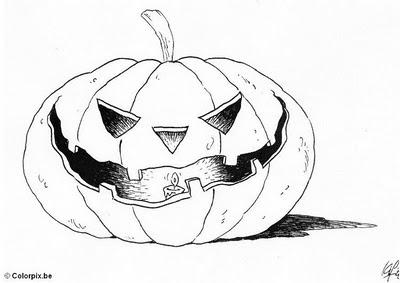 halloween para colorear