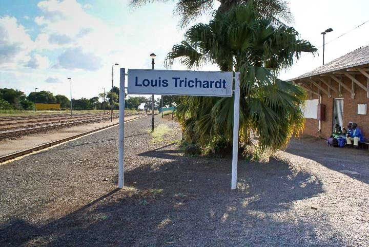 Louis Trichardt South Africa  city pictures gallery : Louis Trichardt station 2010.