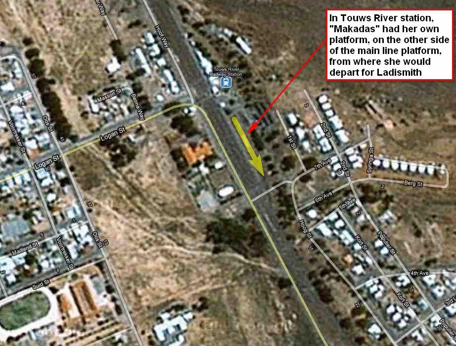 Touws River South Africa  city photo : In August 2010 Eric Johnson fondly reminisced:
