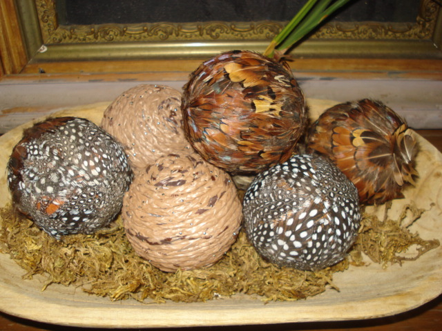 Decorative Feather Balls Fascinating Renew Redo Diy  Decorative Ball Accessories Design Ideas