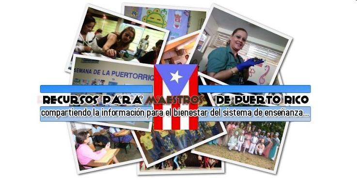 Recursos para maestros de Puerto Rico