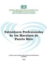 Estándares Profesionales Maestros de Puerto Rico