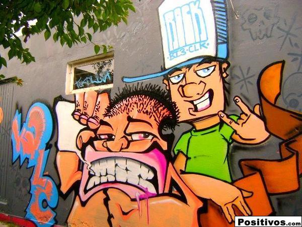 graffiti en mexico: