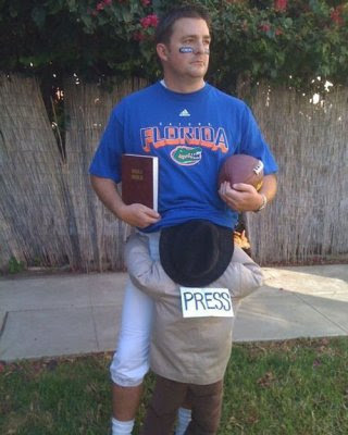 not too bad and well see if pti follows suit still not my favorite sports halloween costume - Halloween Costume Football