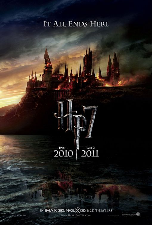 harry potter and the deathly hallows part 1 2010 movie poster. This is the first Harry Potter