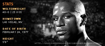 Floyd Mayweather Jr. Profiles, Statistics and Records
