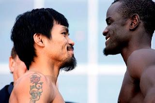 Pacquiao vs Clottey Weigh In