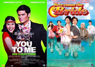Ding Dong Dantes, Marian Rivera, You to Me are Everything,  Angelica Panganiban, Eugene Domingo, here comes the bride, octoarts, Star Cinema, tuesday vargas