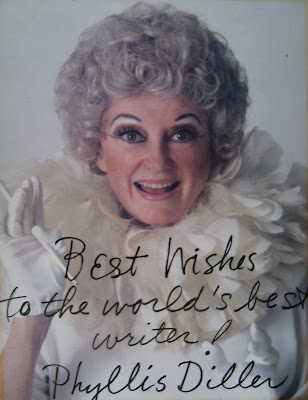 Thanks for the Laughs Phyllis Diller 
