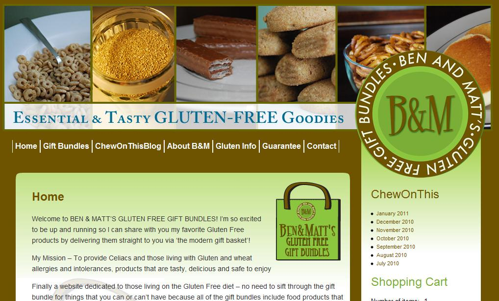 Gluten free gifts for all occasions from ben and matts negle Choice Image