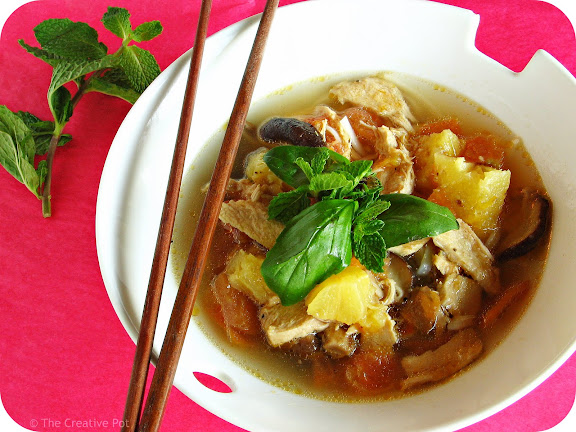 Photo of Vietnamese Chicken and Pineapple Soup