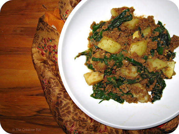Ground Beef Curry (Keema Kari)