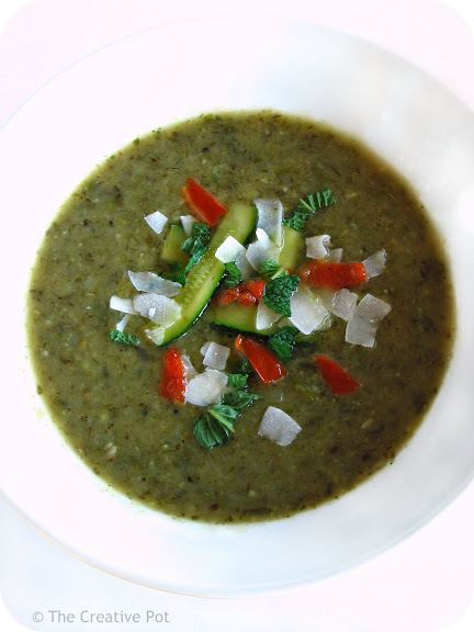 Thai Inspired Zucchini & Waterblommetjie Soup [photo]