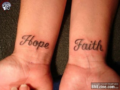 Love Hope  Faith Tattoos on Hope And Faith Tattoo Tattoos 7476271 496 372 J