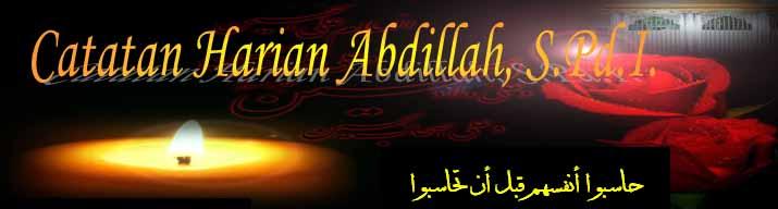 Catatan Harian Abdillah