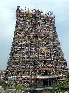 Madurai Meenahsi Temple Tower