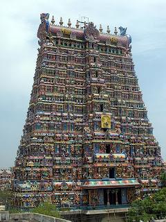Madurai Meenahsi Temple Tower