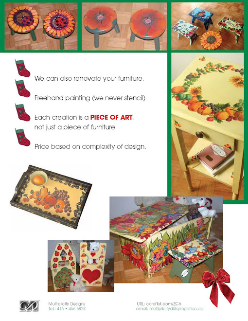 Hand- painted and decorated furniture for Children