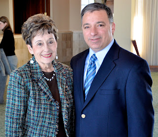 Annette Rosato and Leon V. Rosato, Jr. were among those honored at the UCP of Greater Birmingham