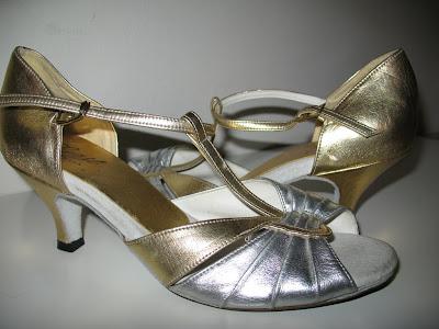 Metallic Dance Shoes