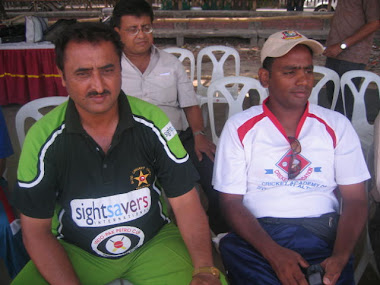 Pakistani Coach Nafis & Bangladeshi Coach Sanowar Ahmed