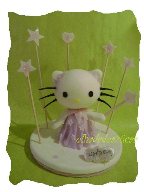 adorno torta Kitty