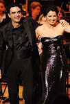 Anna and Rolando at a concert in the philharmonie Munich in July 2007