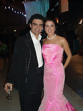 "Anna and Rolando after a performance at ""Wetten dass...???"" in 2005"
