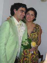 Anna and Rolando during the presentation of Romo et Juliette in Vienna in May 2006