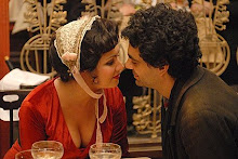 Anna and Rolando in La Bohème - the movie shot at the Rosenhügel studios in Vienna in February 2008