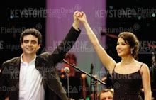 Anna and Rolando at a concert in Zürich on 19th november 2005